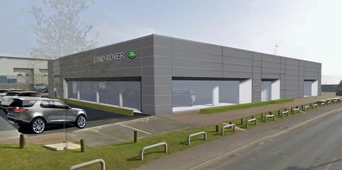 Letter of intent received for £2.3M contract to build a Land Rover
