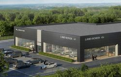 Work starts on Helston Group's new JLR & Volvo dealerships in Taunton