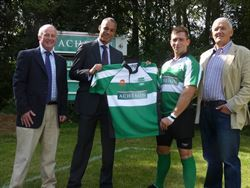 Acheson continue to be sponsors of Dorchester Rugby Club