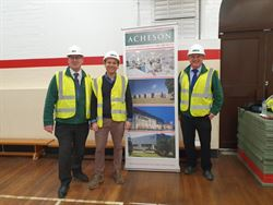 Acheson hold Construction presentation at Dorchester Middle School