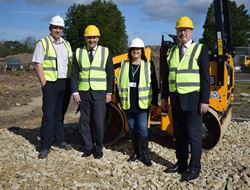 Work starts at Dorset Green Technology Park, Winfrith