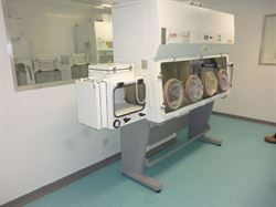 Pharmacy Aseptic Suite, Dorchester County Hospital, Dorset